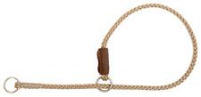 Mendota Pet - Show Slip Collar - Tan - 18 Inch
