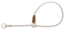 Mendota Pet - Show Slip Collar - Silver - 18 Inch