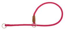 Mendota Pet - Show Slip Collar - Raspberry - 18 Inch