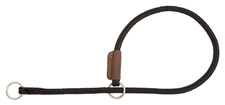 Mendota Pet - Show Slip Collar - Black - 18 Inch