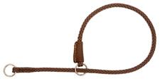 Mendota Pet - Show Slip Collar - Dark Brown - 22 Inch