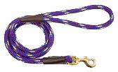 Mendota Pet - Snap Leash - Purple Confetti - 1/2 Inch x 6 Feet