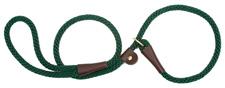 Mendota Pet - Slip Lead - Hunter Green - 1/2 Inch x 4 Feet