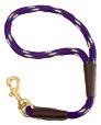 Mendota Pet - Traffic Lead - Purple Confetti - 1/2 Inch x 16 Inch