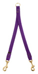"Mendota Pet - Small Breed Coupler, 2-Dog - Purple - 9/16"" w x 24"""