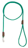 Mendota Pet - British Show Snap Leash - Kelly Green - 1/8 Inch x 4 Feet