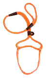 Mendota Pet - Big Dog Walker - Orange - 1/2 Inch x 4 Feet
