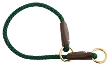 Mendota Pet - Command/Slip Collar - Hunter Green - 18 Inch