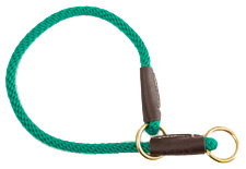 Mendota Pet - Command/Slip Collar - Kelly Green - 18 Inch