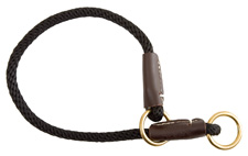 Mendota Pet - Command/Slip Collar - Black - 20 Inch