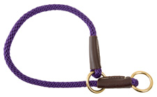 Mendota Pet - Command/Slip Collar - Purple - 20 Inch