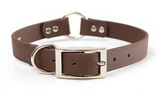 Mendota Pet - DuraSoft Hunt Collar - Brown - 1 Inch x 14 Inch