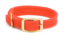 "Mendota Pet - Double Braid Collar - Red - 1""w up to 24 Inch"