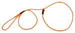 Mendota Pet - British Show Slip Lead - Orange - 1/8 Inch x 54 Inch