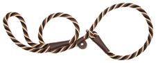 Mendota Pet - Slip Lead - Mocha - 3/8 Inch x 6 Feet - Small