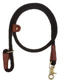 Mendota Pet - Quick Lead - Black - 1/2 Inch x 4 Feet