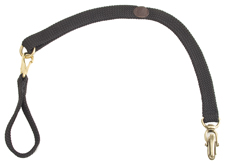 """Mendota Pet - Versa-Belt Lead - Black - 1""""w x 30 Inch"""