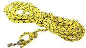 Mendota Pet - Super Cord/Check Cord - Hi-Viz Yellow - 7/16 Inch x 30 Feet