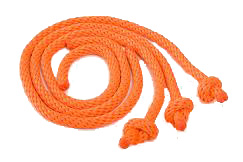 Mendota Pet - Training Dummy Throw Ropes - Orange