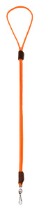 Mendota Pet - Whistle Lanyard, Single - Orange