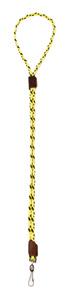 Mendota Pet - Whistle Lanyard, Single - Hi-Viz Yellow