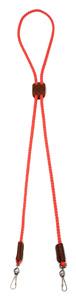 Mendota Pet - Whistle Lanyard, Double - Red