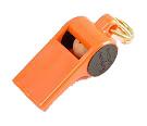 Mendota Pet - Roy Gonia Training Whistle (with Black Spot & Pea) - Orange