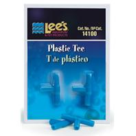 Lee's Aquarium And Pet - Plastic Tee - 2 Pack