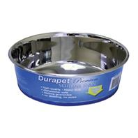 Our Pets - Durapet Bowl - Stainless Steel - 3 Quart