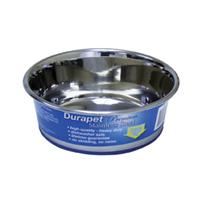 Our Pets - Durapet Bowl - Stainless Steel - 1.2 Pint