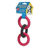 JW Pet - Invincible Chains Triple Link - 4 Inch