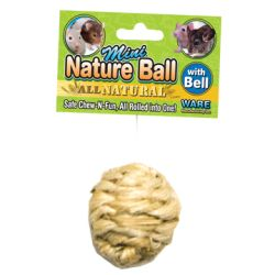 Ware Mfg - Mini Nature Ball Small Animal Toy - Small