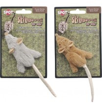 Ethical Cat - Skinneeez Mouse - Tan - 1 Pack
