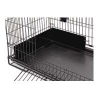 Midwest Container - Hoppity Habitat Urine Guard - Black