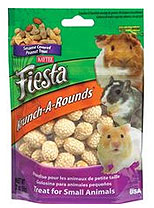 Kaytee Products - Fiesta Krunch A Rounds Small Animal - Pea Nuts - 2 oz