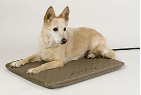 K&H Pet Products - Lectro-Soft Heated Bed - Taupe - Medium