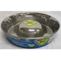 Our Pets - Slow Feed Bowl - Stainless - Large