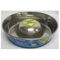 Our Pets - Slow Feed Bowl - Stainless - Medium