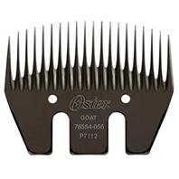 Oster - Goat Tooth Comb - Black - 3 x 20 Inch