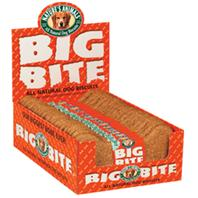 Natures Animals - Big Bite Biscuit - Peanut Butter - 8 Inch/ 24 Pack