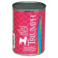 Triumph Pet - Can Dog Food - Chicken/Rice/Vegetable - 13.2 oz