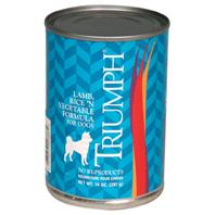 Triumph Pet - Canned Dog Food - Lamb, Rice and Vegetable - 13.2 oz