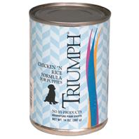 Triumph Pet - Canned Puppy Food - Chicken/Rice - 13.2 oz
