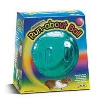 Super Pet - Run-about Ball - Assorted - 7 Inch Diameter