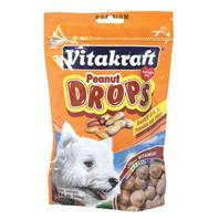 Vitakraft - Drops Dog  Treats - Peanut- 8.8 OZ