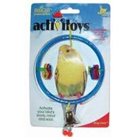 JW Pet - Bird Toy Ring Clear