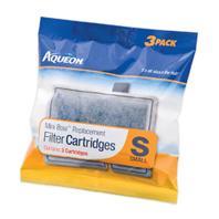 All Glass Aquarium - Aqueon Filter Cartridge - Small - 3 Pack