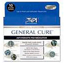 Aquarium Pharmaceuticals - General Cure Powder Packet-10pack