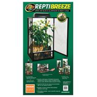 Zoo Med - Reptibreeze Screen Cage -  BLACK MEDIUM