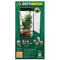Zoo Med - Reptibreeze Screen Cage -  BLACK LARGE